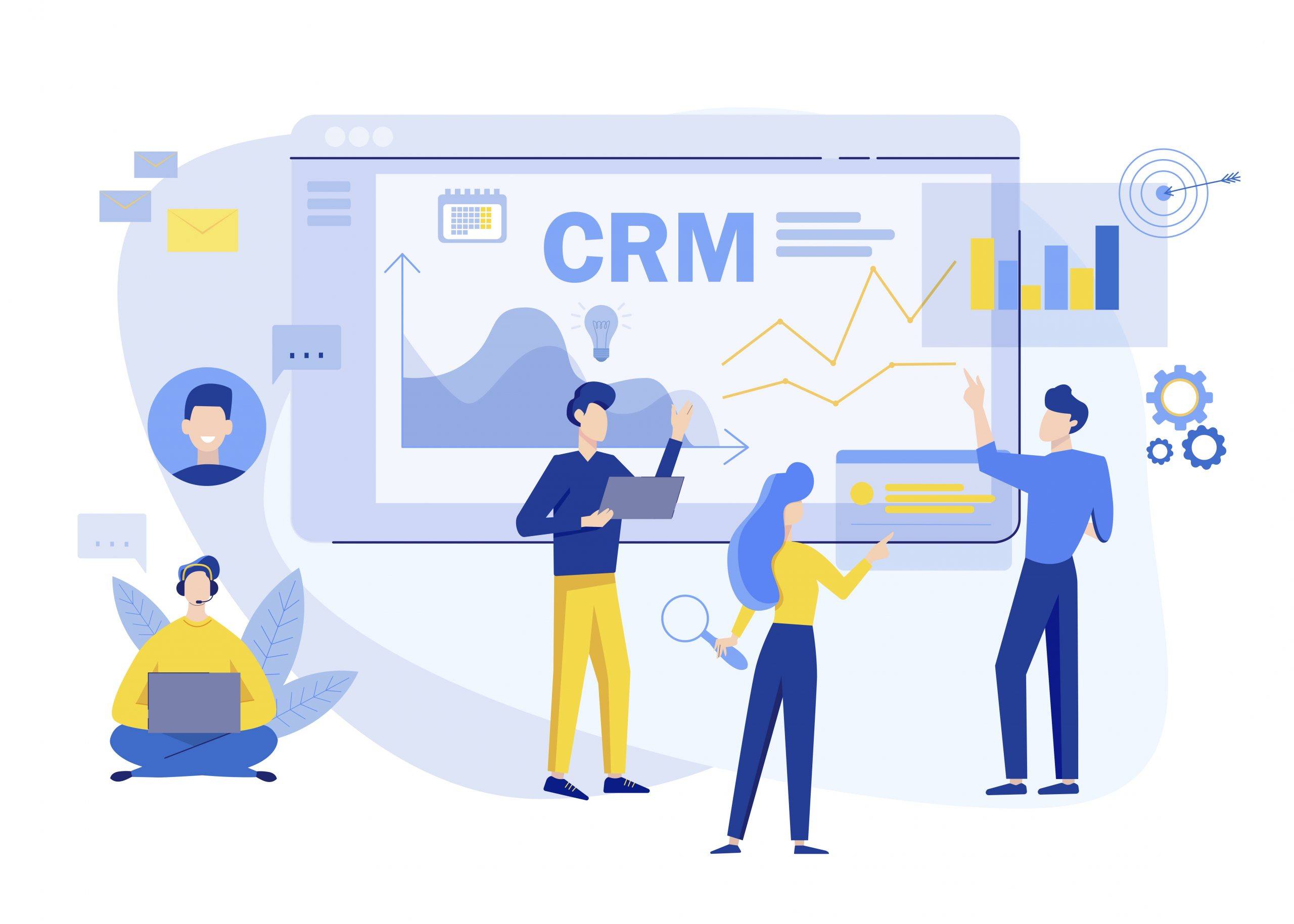 CRM for sales and markeing